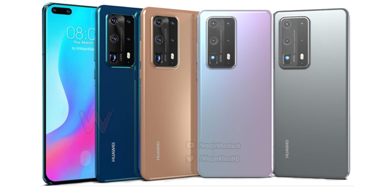 Uskoro dolaze Huawei P40 i P40 Pro s po sedam kamera