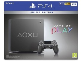 GAM SONY PS4 1TB Days of Play Steel Black Special Edition
