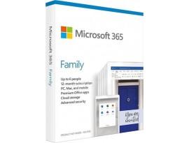 FPP Microsoft 365 Family 1Y Medialess P6 CRO, 6GQ-01146