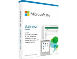 FPP Microsoft 365 Bus.Std 1YR Medialess P6 ENG, KLQ-00461