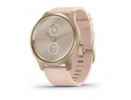 Garmin Vivomove Style Light Gold Blush Pink nylon