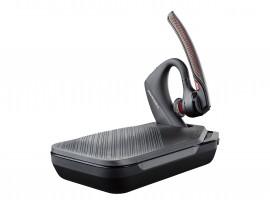 PLANTRONICS Voyager 5200 Headset, Mono, Kabellos, Bluetooth Optimiert für Unified Communication und Skype for Business