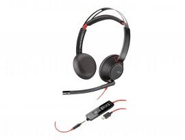 PLANTRONICS BLACKWIRE Headset C5220, Kabelgeb., Stereo, USB-A, Optimiert für Unified Communication