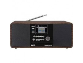 """Imperial Dabman i200 CD [Holzoptik] - 2,8"""" (7,2 cm) TFT-Farbdisplay, DAB+ Radio mit CD-Player, Stereo, UKW, WLAN, Aux In, Line"""