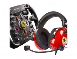 Thrustmaster SCUDERIA FERRARI RACE KIT Multiplattform-Headset und Racing-Wheel-Set
