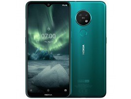 "Nokia 7.2 64GB Dual-SIM Türkis [16cm (6,3"") FHD+ Display, Android 9.0 Pie, 48+5+8MP Triple Hauptkamera]"