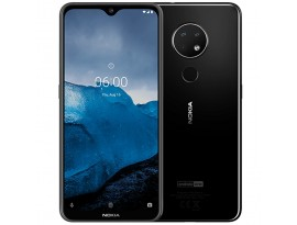 "Nokia 6.2 64GB Dual-SIM Schwarz [16cm (6,3"") FHD+ Display, Android 9.0 Pie, 16+5+8MP Triple Hauptkamera]"