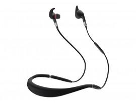 Jabra Evolve 75e Headset, Stereo, Kabellos, Bluetooth, inkl. Link 370, Optimiert für Skype for Business