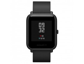 "Huami Amazfit Bip Lite Schwarz EU [3,25cm (1,28"") LCD Display, Bluetooth 4.1, 3 ATM]"