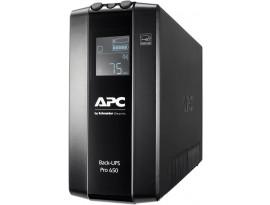 APC BR650MI Back UPS Pro USV (6 IEC Ausgänge, Multifunktionsdisplay, 1GB Netzwerk Datenleitungsschutz)