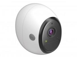 D-Link DCS-2800LH-EU Pro Wire-Free Kamera, weiß-schwarz [Full HD Auflösung, kabellos, WLAN, Cloud-fähig]