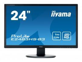 Iiyama ProLite E2483HS-B3 - 61 cm (24 Zoll), LED, 1 ms, Lautsprecher, HDMI