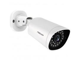 FOSCAM G4EP Outdoor Überwachungskamera, Weiß [4 MP Super HD, PoE, 1x LAN, Zweiwege-Audio, 20m Nachtsicht]