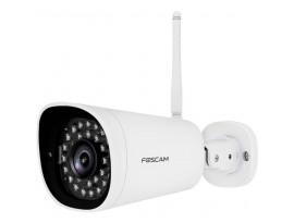 FOSCAM G4P Outdoor Überwachungskamera, Weiß [4 MP Super HD, WLAN, 1x LAN, Zweiwege-Audio, 20m Nachtsicht]