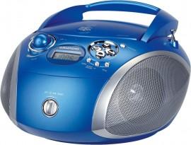 Grundig GRB 2000 USB - Blau/Silber [Radio mit CD-Player]