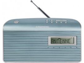 Grundig Music 7000 DAB+ mint/silber (LCD-Display, 10 Stationsspeicher)