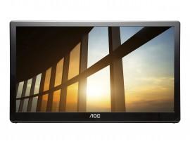 AOC I1659FWUX - 40 cm (15.6 Zoll), tragbarer LED-Monitor, IPS-Panel, Full HD, USB 3.0