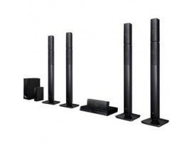 LG LHB 655NW - 5.1 Heimkinosystem (1000W, Bluetooth, 3D Blu-ray, Multiroom)