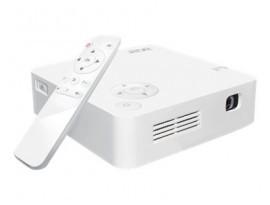 Acer C202i LED Mini Beamer - WVGA, 250 ANSI Lumen, 5.000:1 Kontrast, Akku bis 4h, WLAN, HDMI
