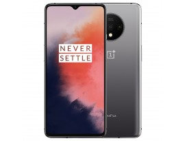 OnePlus 7T 128GB/8GB Dual-SIM Frosted Silver EU [16,6cm (6,55 Zoll) OLED Display, Android 10, Triple Hauptkamera]