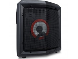 LG RL2, Schwarz - Portables HiFi System (50W, XBOOM, Radio/USB, Karaoke, Bluetooth, Akku)