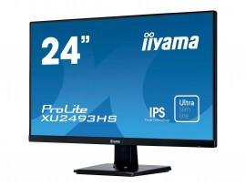 Iiyama ProLite XU2493HS-B1 - 60,5 cm (23,8 Zoll), LED, IPS-Panel, Lautsprecher, DisplayPort