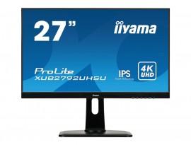 Iiyama ProLite XUB2792UHSU-B1 - 68,4 cm (27 Zoll), LED, IPS-Panel, 4K UHD, Höhenverstellung, DisplayPort