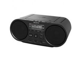 Sony ZS-PS55 (schwarz) - Radiorekorder (2x2 Watt, DAB, UKW, USB)