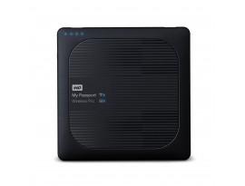 WD My Passport Wireless Pro 2TB Schwarz - externe Festplatte, USB 3.0 Micro-B und WLAN ac