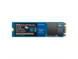 WD Blue SN500 NVMe SSD 250GB M.2 2280 PCIe 3.0 x2 - internes Solid-State-Module