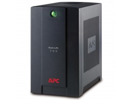APC BX700UI Back-UPS USV (390W, 700VA, Line-Interactive-USV, 4x IEC320 C13)