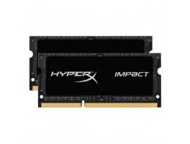 HyperX Impact Schwarz 16GB Kit (2x8GB) DDR3L-1600 CL9 SO-DIMM Arbeitsspeicher