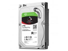 Seagate IronWolf Pro 2TB 3.5 Zoll SATA 6Gb/s + Rescue - interne NAS Festplatte