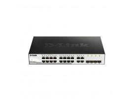 D-Link DGS-1210-20 Gigabit 20-Port Smart Managed Switch (1000 Mbit/s, Voice VLAN, 4x SFP Slots)