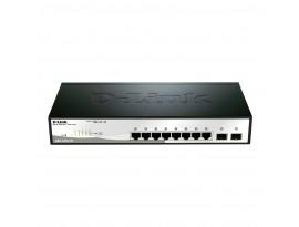 D-Link Gigabit 8-Port Rackmount-Switch (DGS-1210) [8x Gbit, Voice-VLAN]