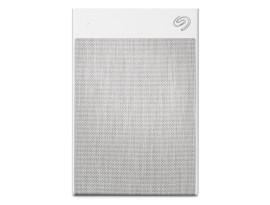 Seagate Backup Plus Ultra Touch 1TB Weiß - externe Festplatte, USB 3.0 Micro-B