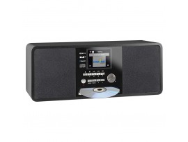"""Imperial Dabman i200 CD [schwarz] - 2,8"""" (7,2 cm) TFT-Farbdisplay, DAB+ Radio mit CD-Player, Stereo, UKW, WLAN, Aux In, Line Out"""