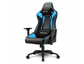 Sharkoon Gamingstuhl Elbrus 3, blau