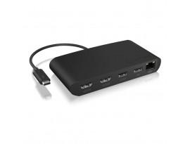ICY BOX IB-DK405-TB3 Thunderbolt 3 Type-C DockingStation mit Dual HDMI Schnittstelle