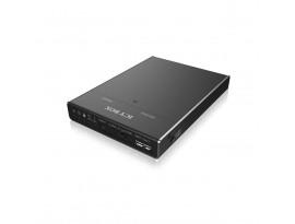 ICY BOX IB-2812CL-U3 Docking und Clone Station für M.2 SATA SSDs