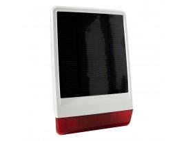 POPP Solar-Außensirene 2 (Solarbetrieben, Z Wave Plus)