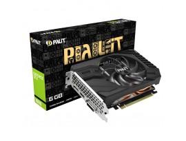 Palit GeForce GTX 1660 6GB StormX Grafikkarte 6 GB, HDMI/3x DisplayPort