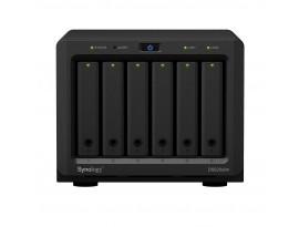 "Synology DiskStation DS620slim 6-Bay NAS [2,5"" SATA HDD/SSD, 2x Gigabit LAN, 2x USB 3.0, 2GB RAM]"
