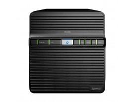 "Synology DiskStation DS420j 4-Bay NAS [2,5""/3,5"" SATA HDD/SSD, 1x Gigabit LAN, 2x USB 3.0, 1GB DDR4]"