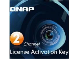 QNAP Systems Lizenz - zwei (2) Kameras zusätzlich [für Surveillance Station Videoverwaltungssystem]