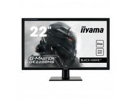 Iiyama G-Master GE2288HS-B1 - 55 cm (21,5 Zoll), LED, AMD FreeSync, 1 ms, Lautsprecher, HDMI