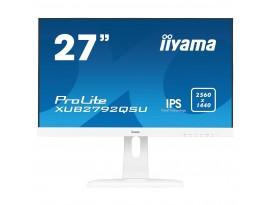 Iiyama ProLite XUB2792QSU-W1 - 69 cm (27 Zoll), LED, IPS-Panel, AMD FreeSync, QHD, Höhenverstellung, DisplayPort