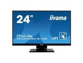 Iiyama ProLite T2454MSC-B1AG - 60,5 cm (23,8 Zoll), LED, Touchscreen, IPS-Panel, Höhenverstellung, HDMI