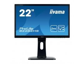 Iiyama ProLite B2282HS-B1 - 55 cm (21,5 Zoll), LED, Höhenverstellung, Pivot, Lautsprecher, HDMI