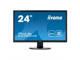 Iiyama ProLite E2482HS-B1 - 61 cm (24 Zoll), LED, Lautsprecher, HDMI